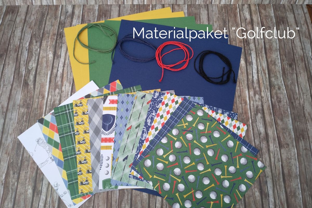 Materialpaketgolfclub